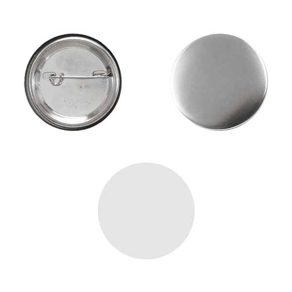 Blank for pin buttons 25mm