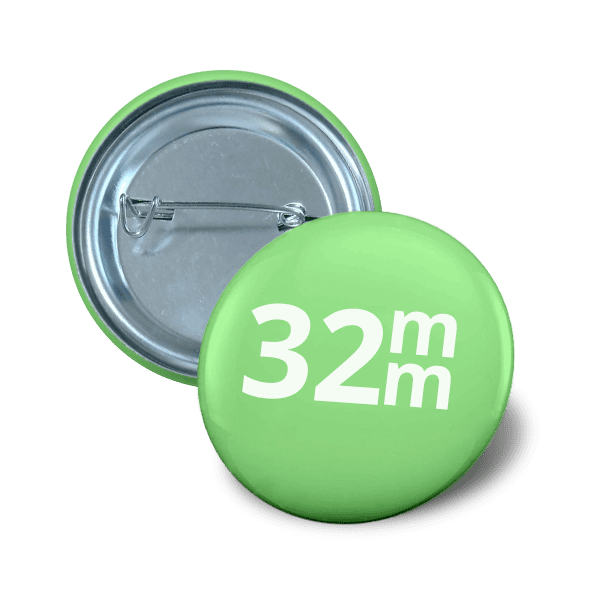 Pin button 32 mm