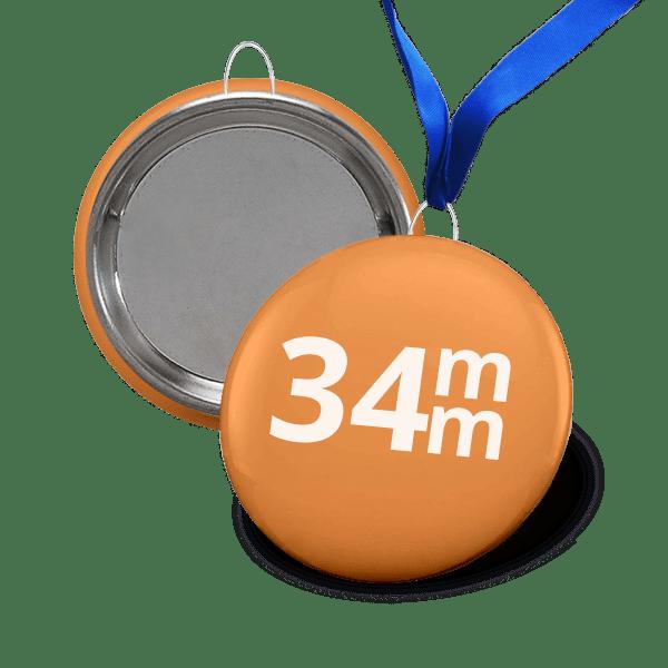 Medal 34mm