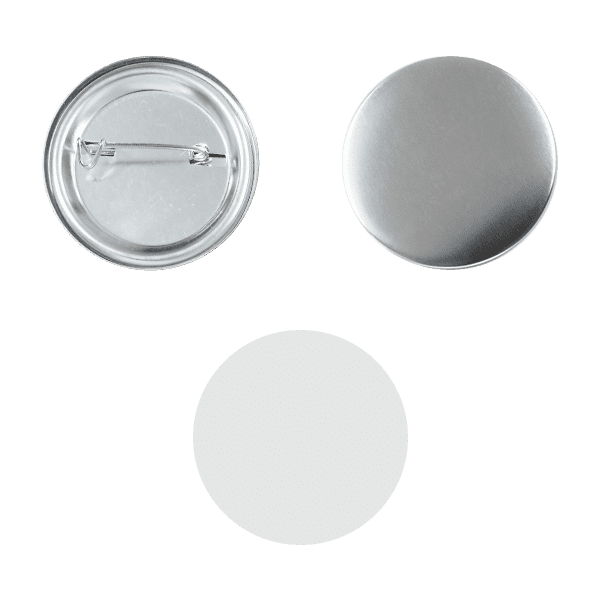 Blank for pin buttons 37mm