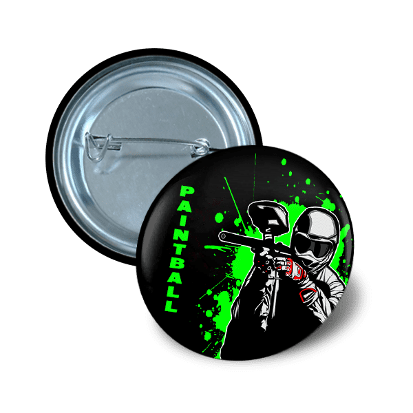Pin button 37 mm hobby