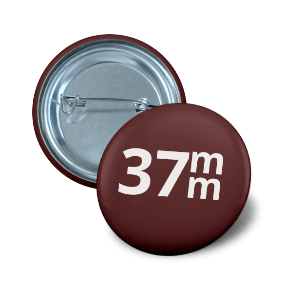 Pin button 37 mm