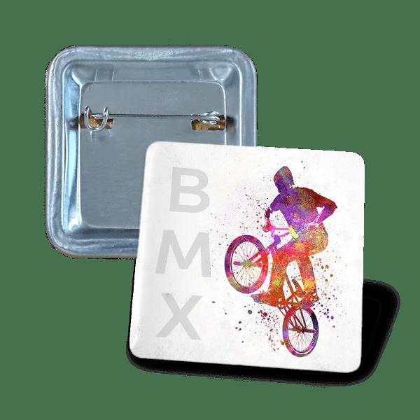Square badge 37х37mm hobby