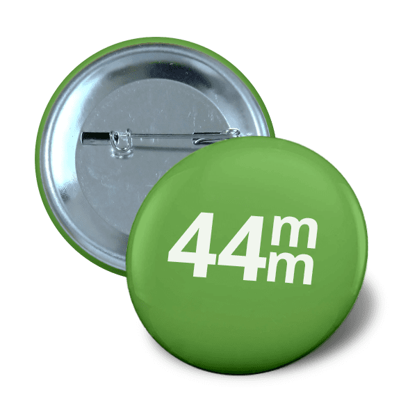 Pin button 44mm