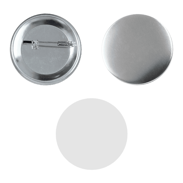 Blank for pin buttons 50mm
