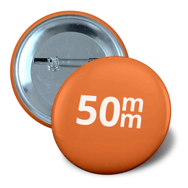 Pin button 50mm
