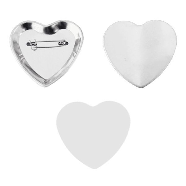 "Blank for ""heart"" buttons 53мм*57,5м�..."