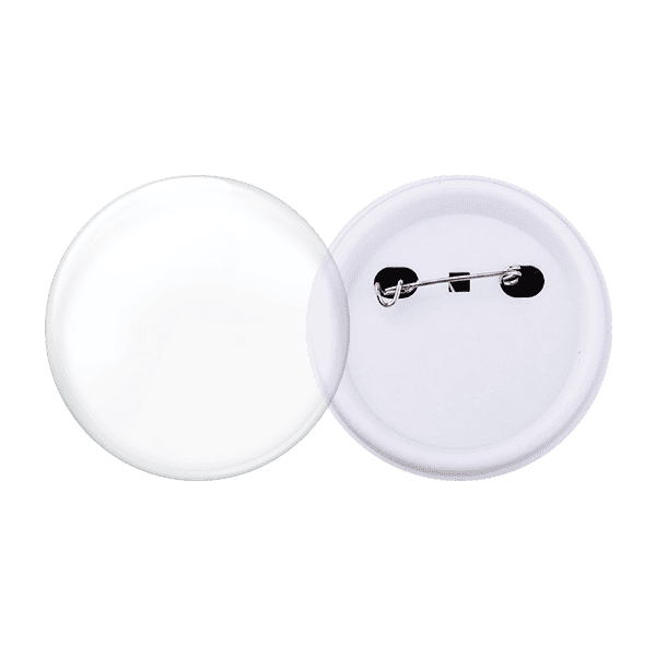 Blank for acrylic pin buttons 56mm