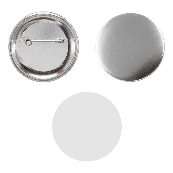 Blank for pin buttons 56mm