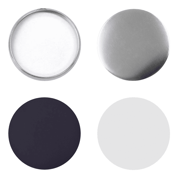Blank for magnet pin buttons 58mm