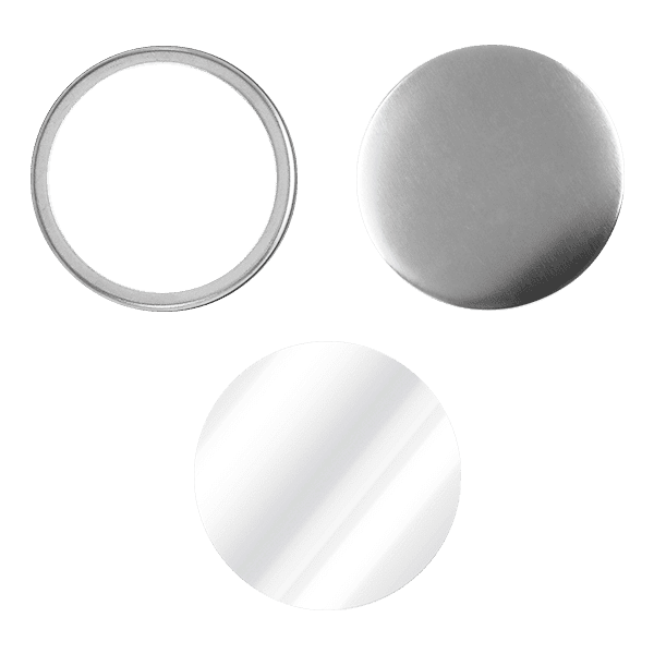 Blank for mirror pin buttons 58mm
