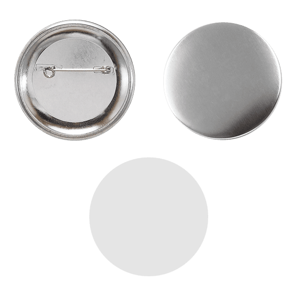 Blank for pin buttons 58mm