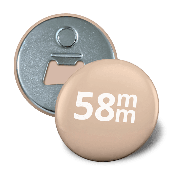 Bottle opener button