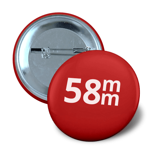 58mm badge