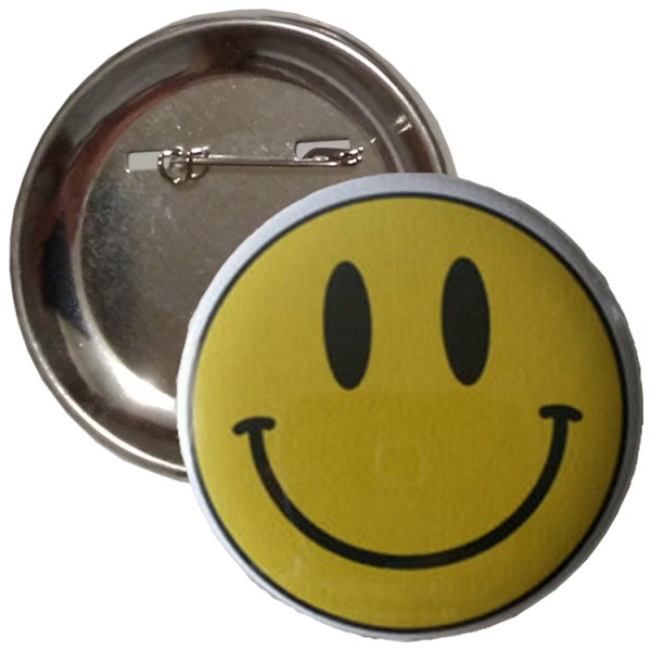 Pin button 65mm