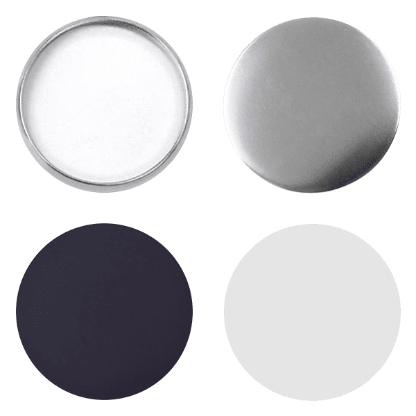 Blank for magnet pin buttons 65mm