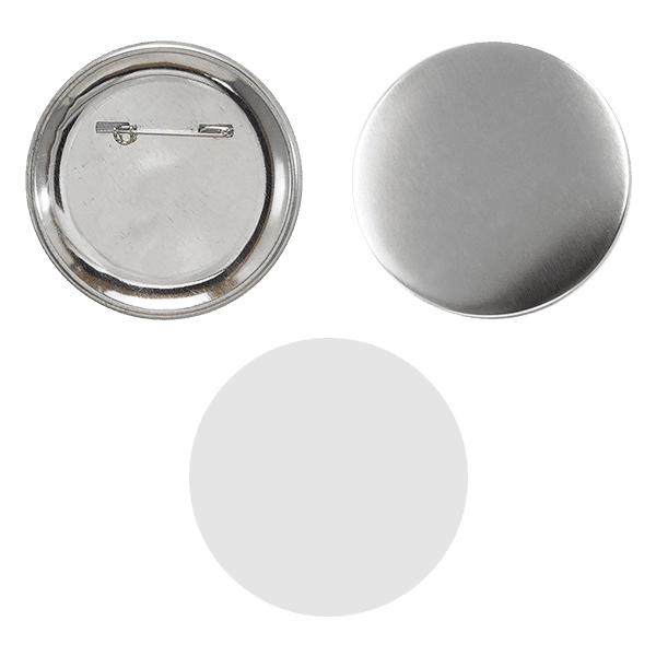 Blank for pin buttons 65mm