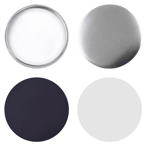 Blank for magnet pin buttons 75mm
