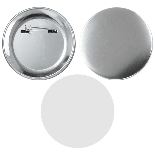 Blank for pin buttons 90mm